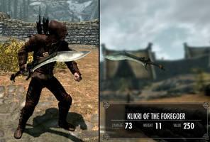 Kukri of the Foregoer - Skyrim