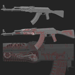 CS:GO AK-47 Alien Finish