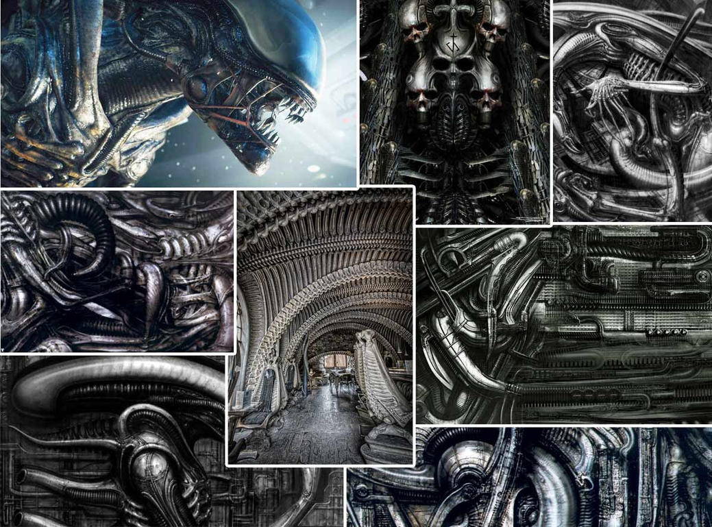 Giger Reference by 9thKnight
