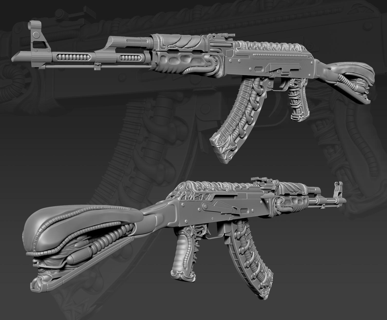 CSGO AK 47 Dead Pulse Progress 3 By 9thKnight