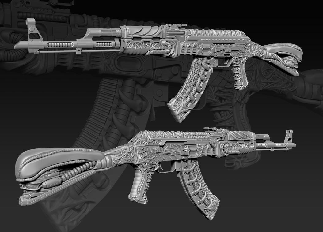CS:GO AK-47 Dead Pulse Progress 4 by 9thKnight