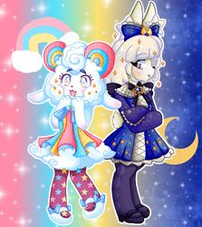 Pretty Guardian Mari and Starlight Bunny by Jazzzeh51