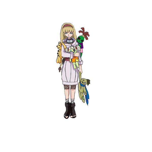 Yamanaka Ino By Rice Su On Deviantart: Naruto OC: Hina Chikamatsu By TruwEvlad On DeviantArt