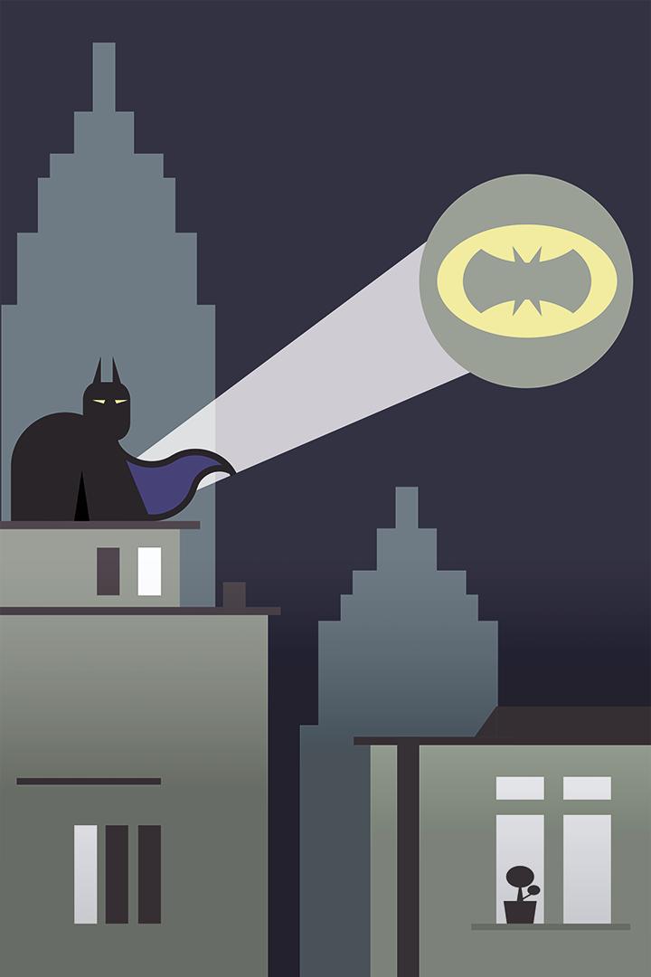 Gotham Night Sky by Scriba by GetScriba