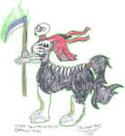 Skullmantaur by TatterTotMinion