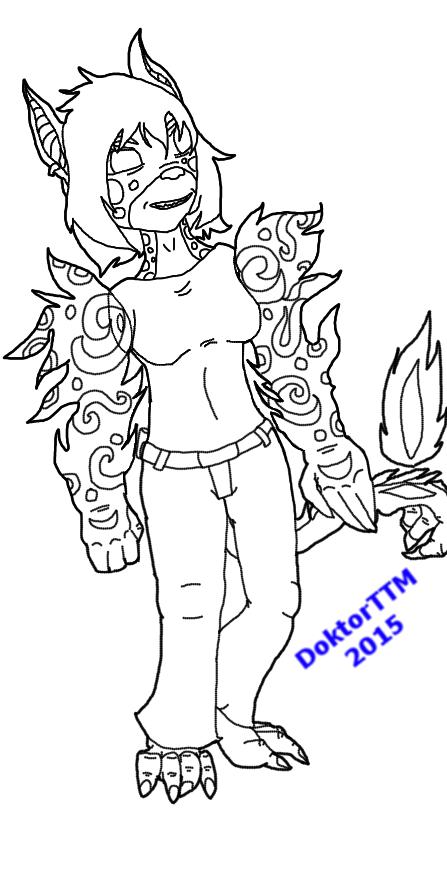 Hybrid Character Kessho by TatterTotMinion