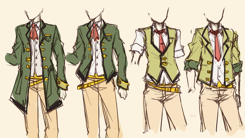 anime male clothes - 800×451
