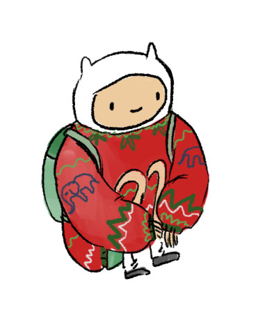 christmas Finn by Aliveat