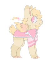 Tan + Pink Deer Adopt [CLOSED] by KatWhiskerz