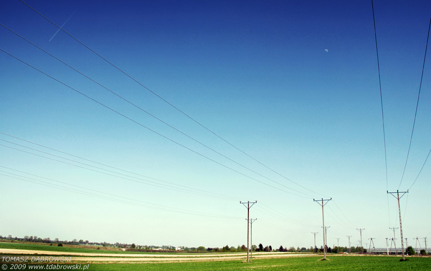 Under a blue sky by Dhante