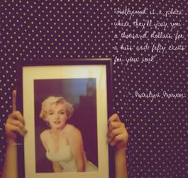 Marilyn Goddess Monroe by clariitaa