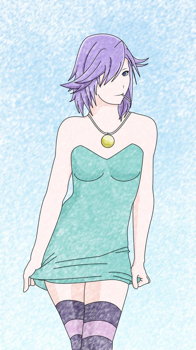 Shirayuki Mizore by vardanil