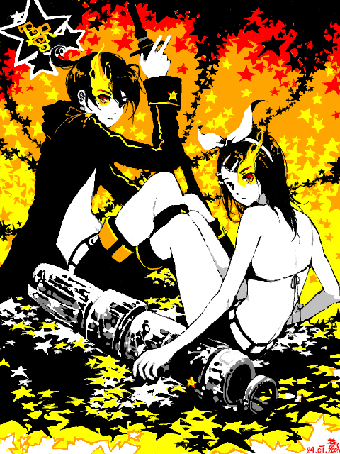 Black Rock Shooter-kagami by dorset