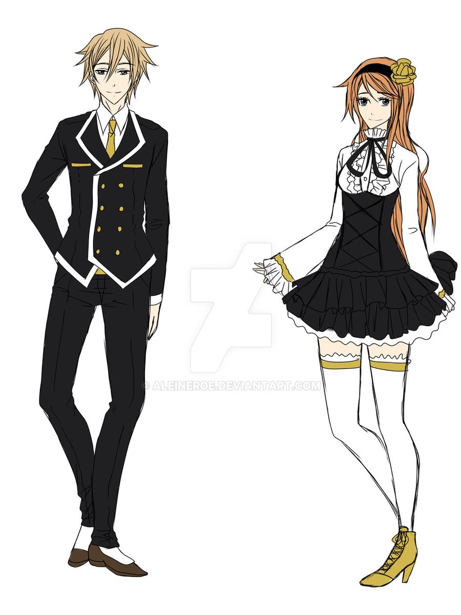 Uniform Sketch By AleineRoe On DeviantArt