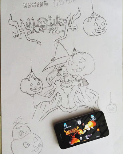 Halloween Party! by KWFIghting