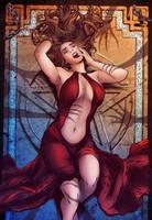 Satan's Hollow - Mike Krome by Pendecon - COLOURS by DarjeeLi
