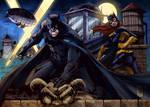 Batman Batgirl (Marcio Abreu by Pendecon) COLOURS