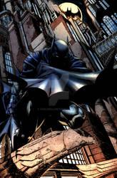Batman 700 (David Finch by Sicat) COLOURS