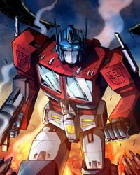 Optimus Prime (COLOURS)