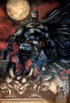Red Sky Batman - COLOURS