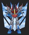 Air Commander Starscream - COLOURS