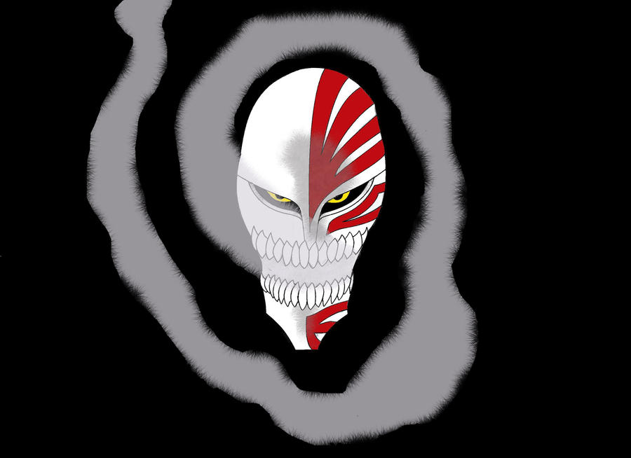 Ichigo's Mask Colored by AnimeMischief