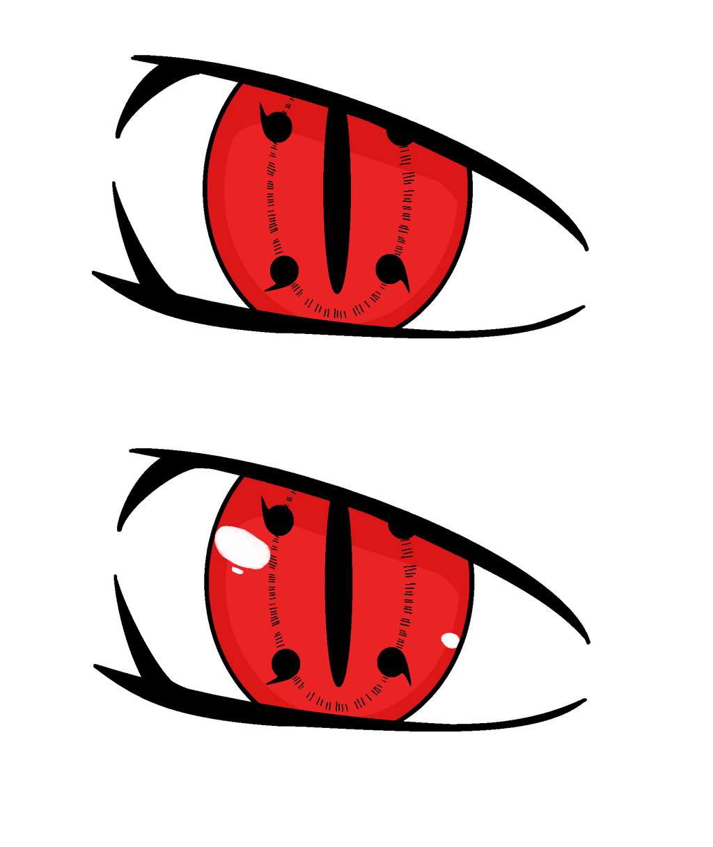 I did a sharingan a while back