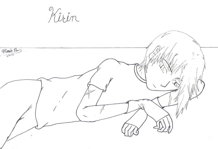 Kirin-lineart by crazymp24