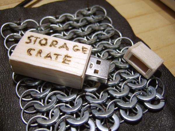 USB Storage Crate by kingtut98