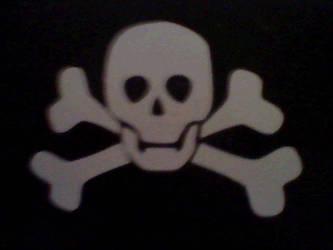 Skull by bestredhalloween