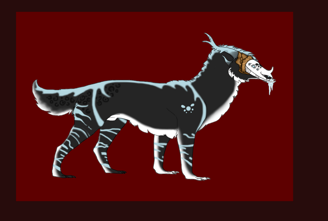 Delvus Blackice by 1stFrostfirewolf