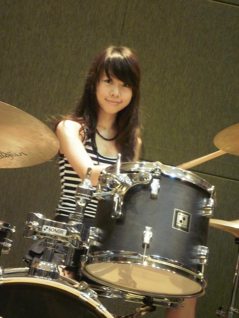 Drummer Girl by seph-aryo on DeviantArt | 774 x 1032 jpeg 155kB