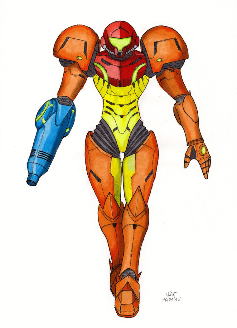 Metroid: Samus by neruzal