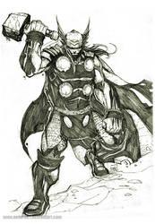 mighty Thor by nefar007