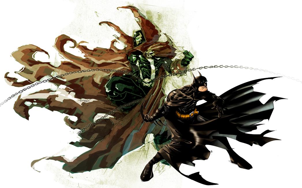 Spawn Batman By Nefar007