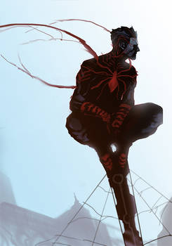 spider suit concept