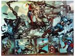 captain marvel #1 spread