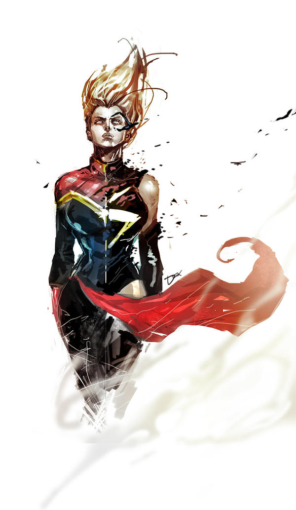 ms captain marvel by nefar007