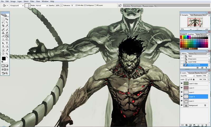 whip in progress by nefar007