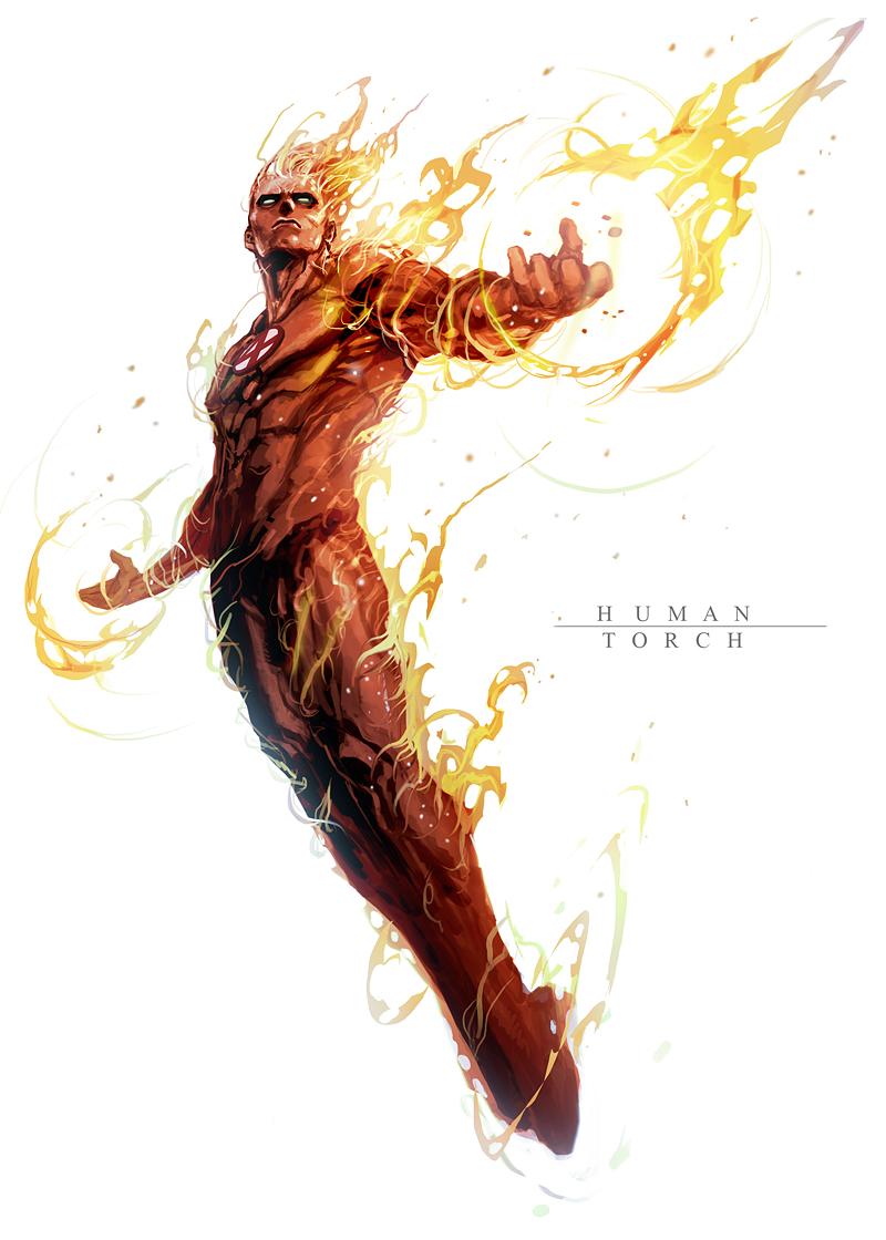 burning man by nefar007