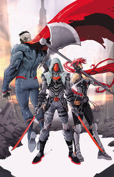 Red Ronin and the Outlaws