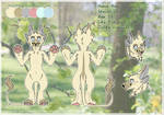 Haru the Chimare Reference Sheet by FreyaFarley