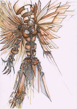 Angel of junk dust and impermanence