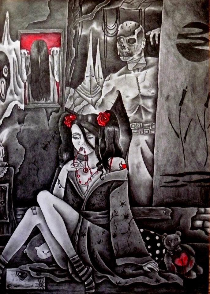 Siniestra by CelesteGomezArts