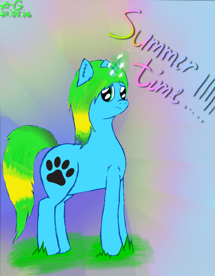 Summer time! by ArianaGreen2002