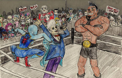 Spider-Dash: In the Ring with the Minotaur!