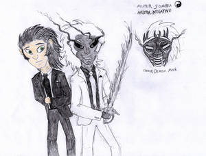 Spider-Dash: Mister Sombra and Mister Negative