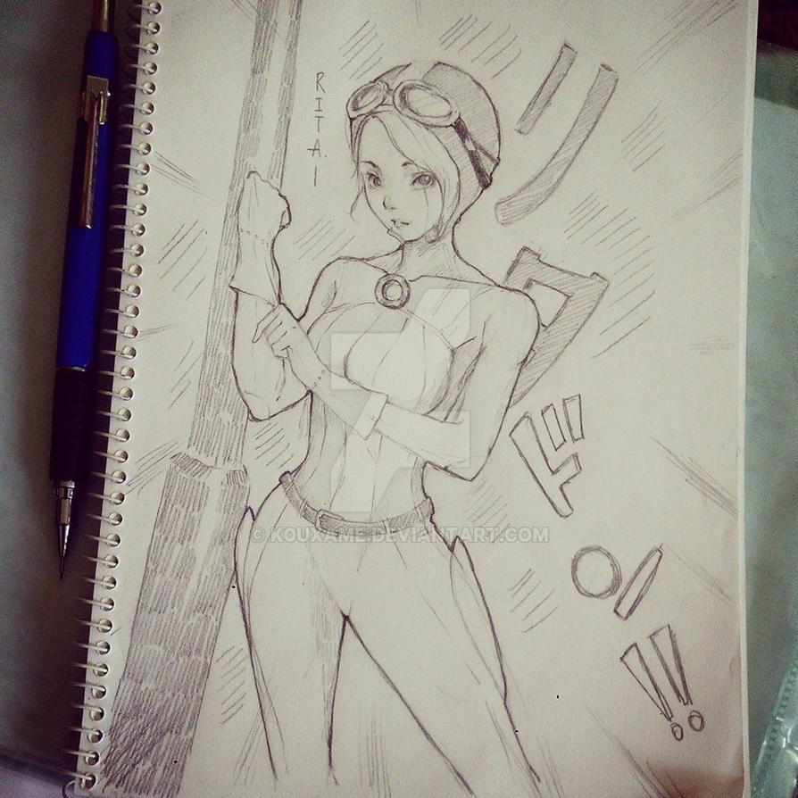 RITA (original character) by K0uXame