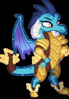 Ember warrior princess by credechica4