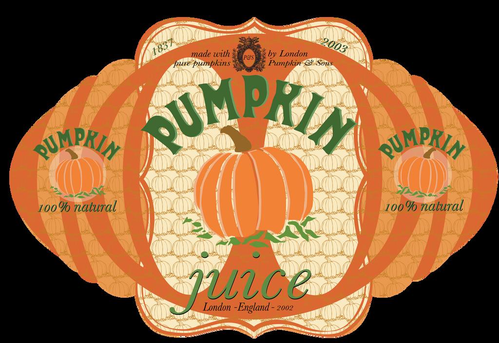 Pumpkin Juice Label